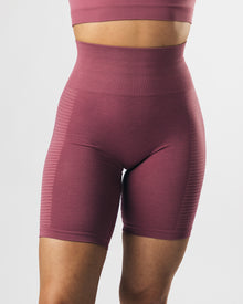 Seamless Biker Shorts - Violet Sunset