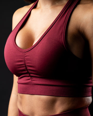 Amplify Bra - Bordeaux