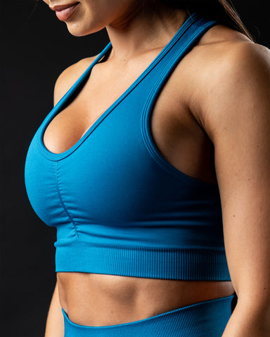 Amplify Bra - Rapids Blue