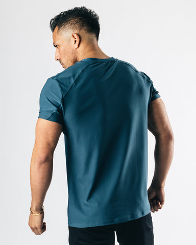 Collective Tee - Slate Blue