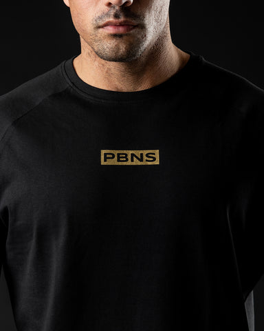 PBNS Concept Performance Tee - Black & Gold