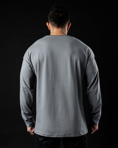 PBNS Oversized Long Sleeve - Quiet Shade
