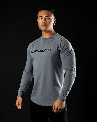 Core Performance Long Sleeve - Quiet Shade