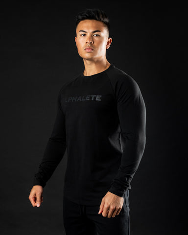 Core Performance Long Sleeve - Blackout