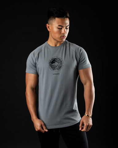 Global Impact Performance Tee - Quiet Shade