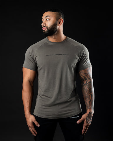 Be More Performance Tee - Major Brown