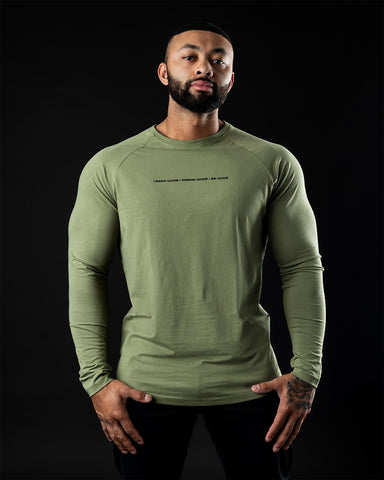 Be More Performance Long Sleeve - Flat Olive
