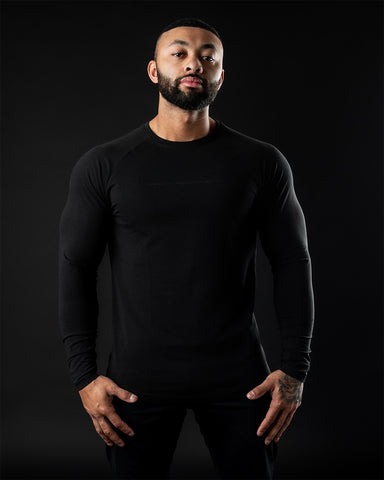 Be More Performance Long Sleeve - Blackout