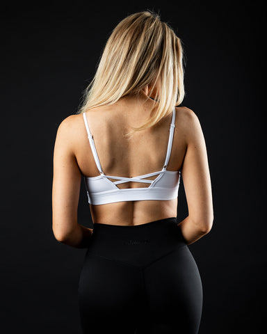 Surface Limitless Bra - White