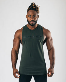 Premier Performance Cutoff - Hunter Green