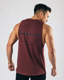 Caliber Performance Cutoff - Muted Maroon
