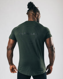Caliber Performance Tee - Hunter Green