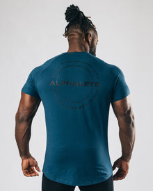 Caliber Performance Tee - Muted Blue