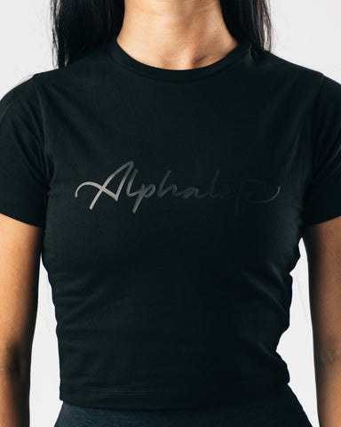 Signature Crop - Black