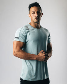 Premium Rolled Muscle Tee - Storm Blue