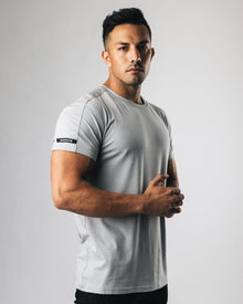 Premium Rolled Muscle Tee - Shark Grey