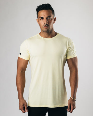 Premium Rolled Muscle Tee - Summer Sun