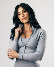 Seamless Jacket - Shark Grey