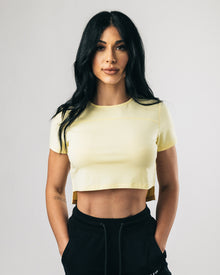Premium Crop Top - Summer Sun