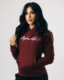 Signature Performance Hoodie - Burgundy