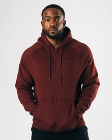 Peak Performance Hoodie - Burgundy