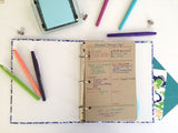 180 Day Fitness Journal Sheets