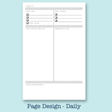 90 Day Fitness Journal Sheets