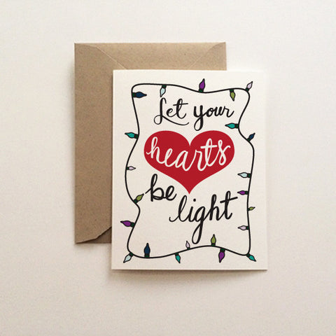 Be Light Christmas Card