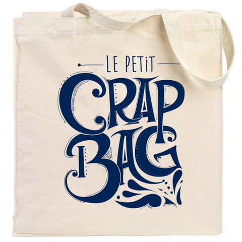 Crap Bag Canvas Tote Bag