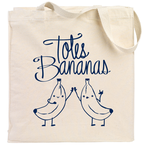 Totes Bananas Canvas Tote Bag
