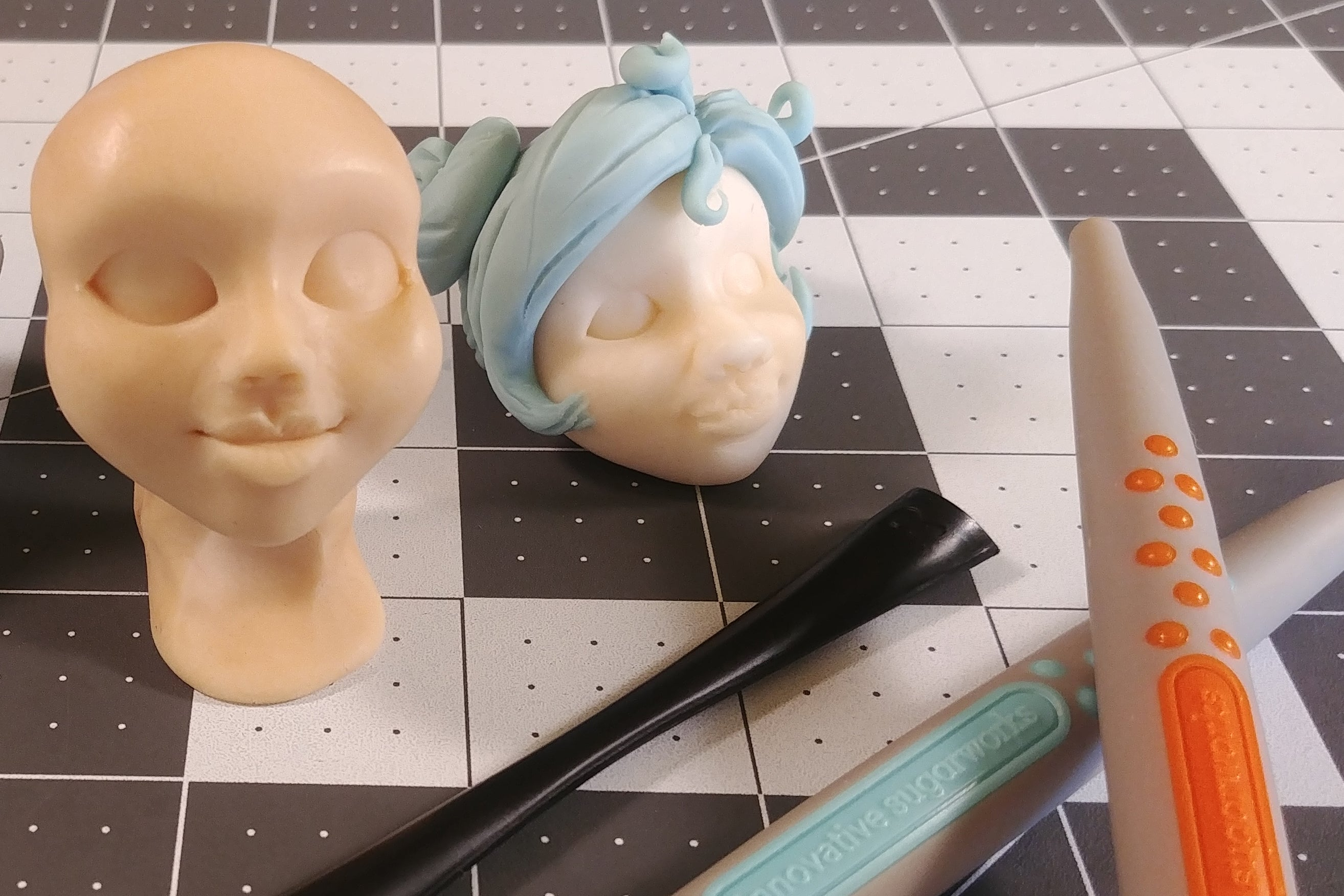 Face Sculpting with Sugar Shapers, TLook, and Jamie Louks
