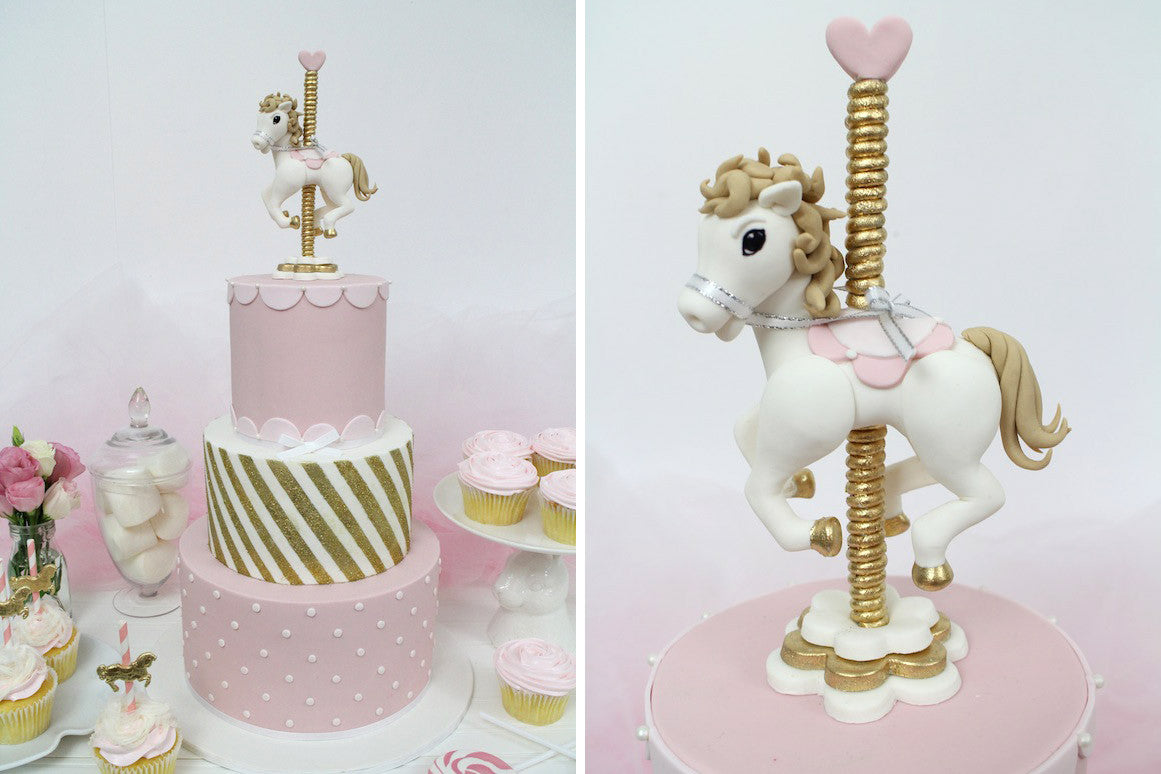 The Carousel Horse By Sharon Wee Innovative Sugarworks