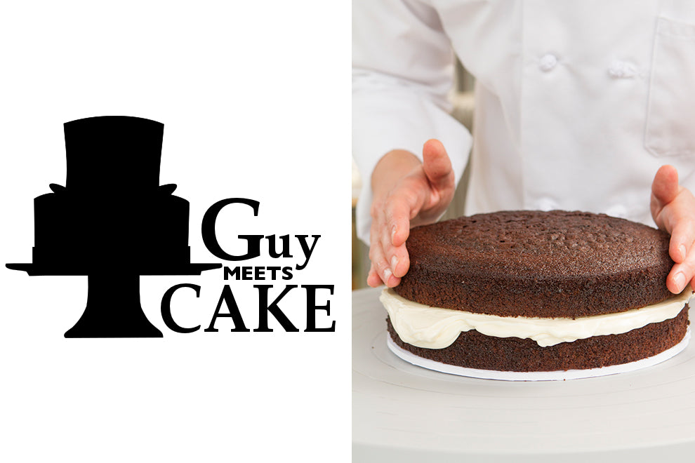 Guy Meets Devil's Food Cake