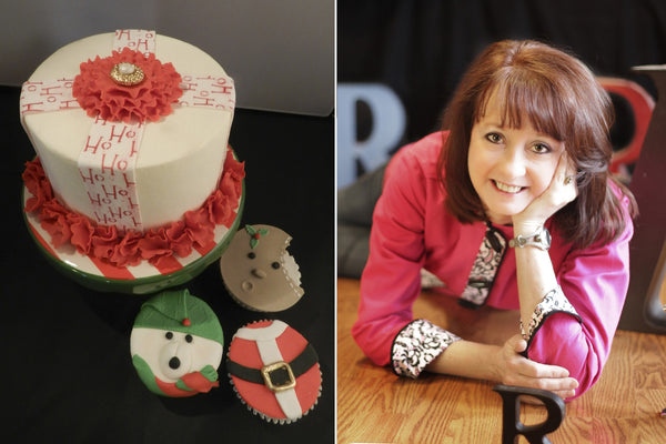 Ruth Rickey's Holiday Ruffle Cake