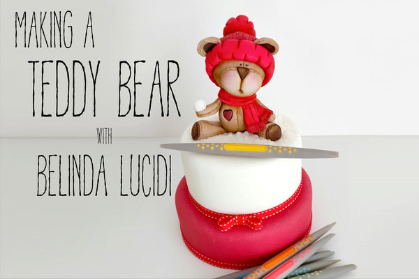 A Winter Teddy Tutorial with Belinda Lucidi