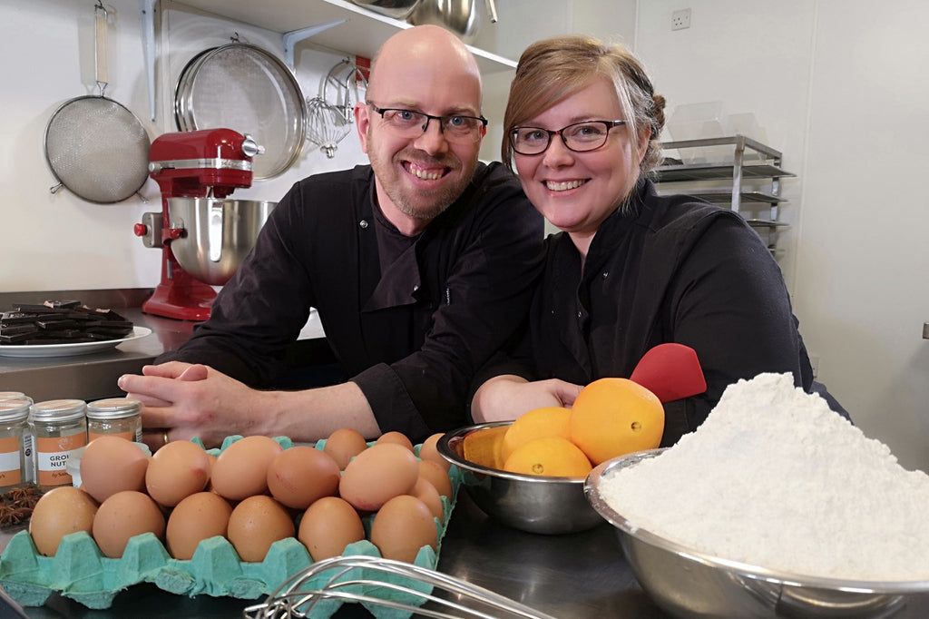 Phil and Christine of Peboryon Cakes