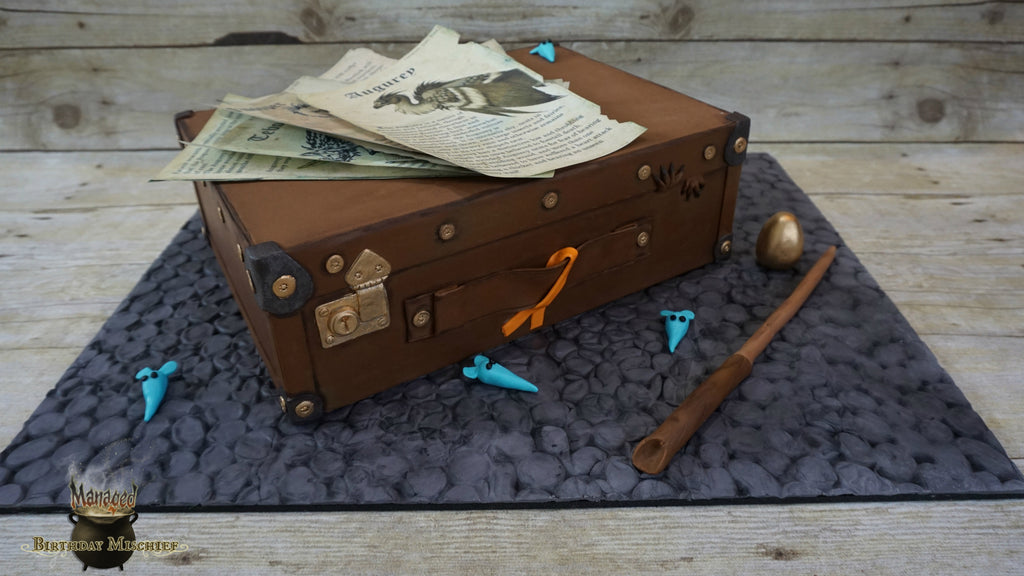 Newt Scamander's suitcase by Hailey's Sweet Temptations