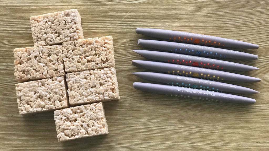 Sugar Shapers and Rice Krispie treats
