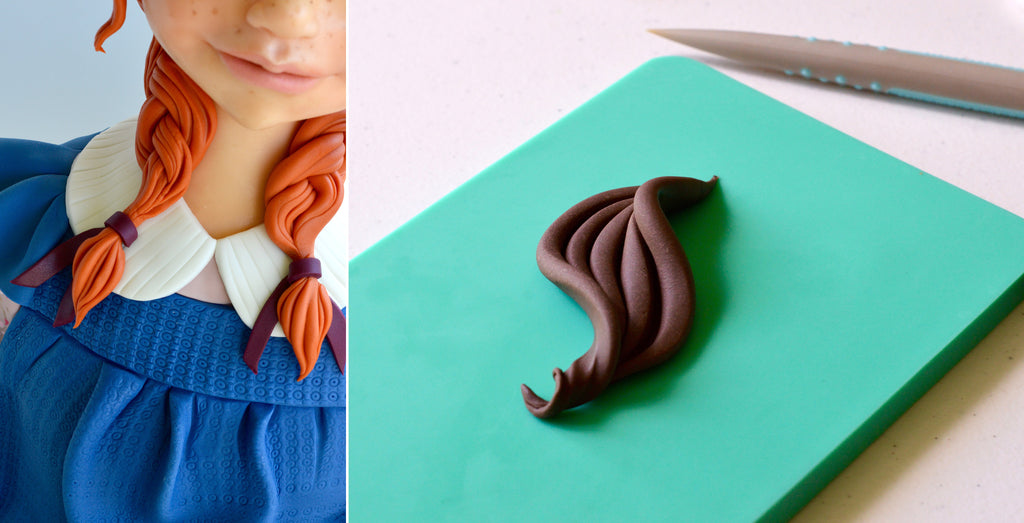 Making hair with Sugar Shapers