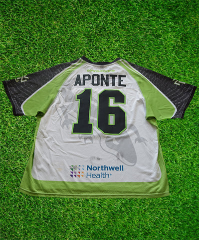 2020 Nick Aponte #16 Game-Worn White Jersey