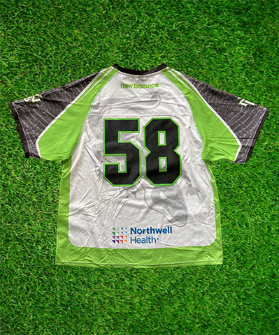 2020 #58 Game-Issued White Jersey