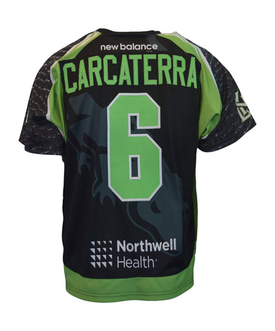 2018 Brian Carcaterra #6 Game-Worn Black & White Jerseys