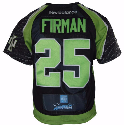 2017 Scott Firman #25 Game Worn & Game Issued Jerseys