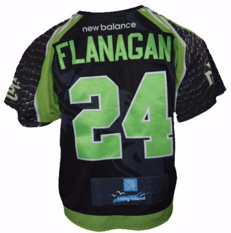 2017 Ryan Flanagan #24 Game-Worn Jersey
