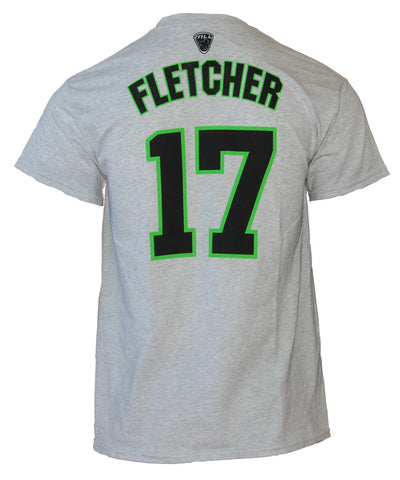 Joe Fletcher 17# Light Gray Player Tee - FINAL SALE