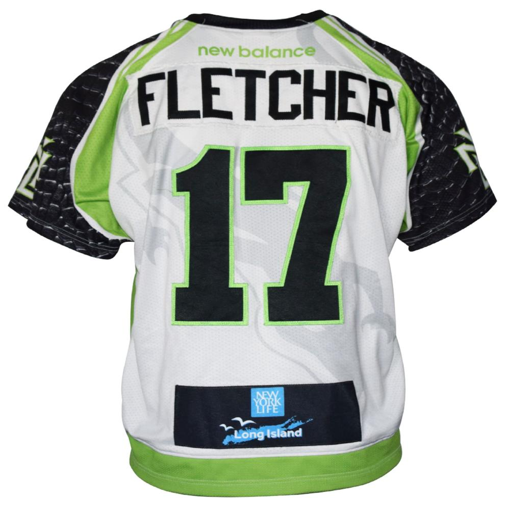 2017 Joe Fletcher #17 Game-Worn Jersey