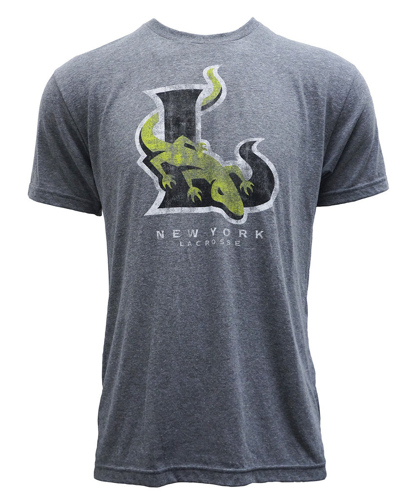 Distressed Gray Tri-Blend Tee - FINAL SALE