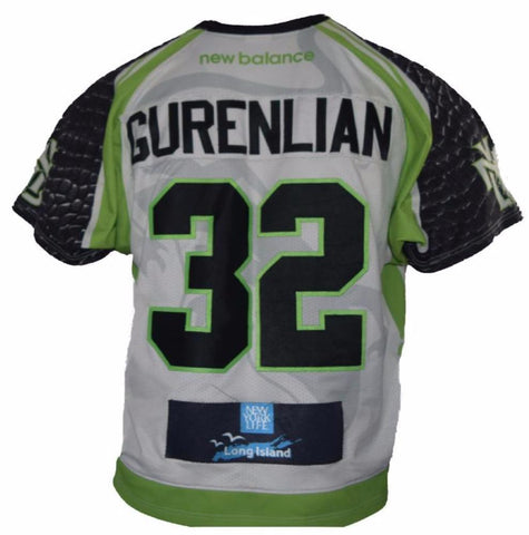 "2017 Greg ""Beast"" Gurenlian #32 Game-Worn Jersey"