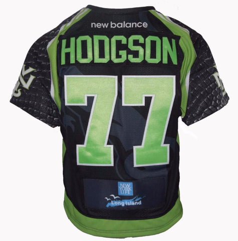 2017 Andrew Hodgson #77 Game-Issued Jersey