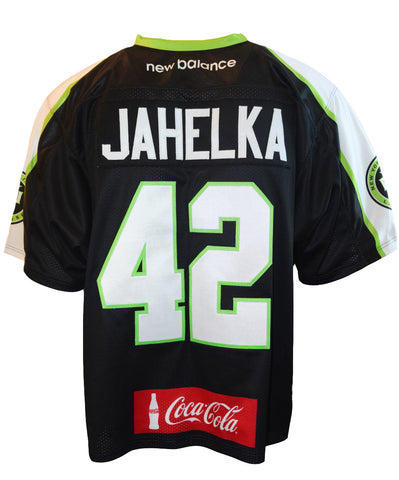 2016 Steve Jahelka #42 Game-Issued Jersey
